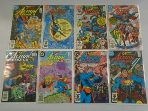 Action Comics lot 34 different from #550-583 6.0 FN (1983-86)