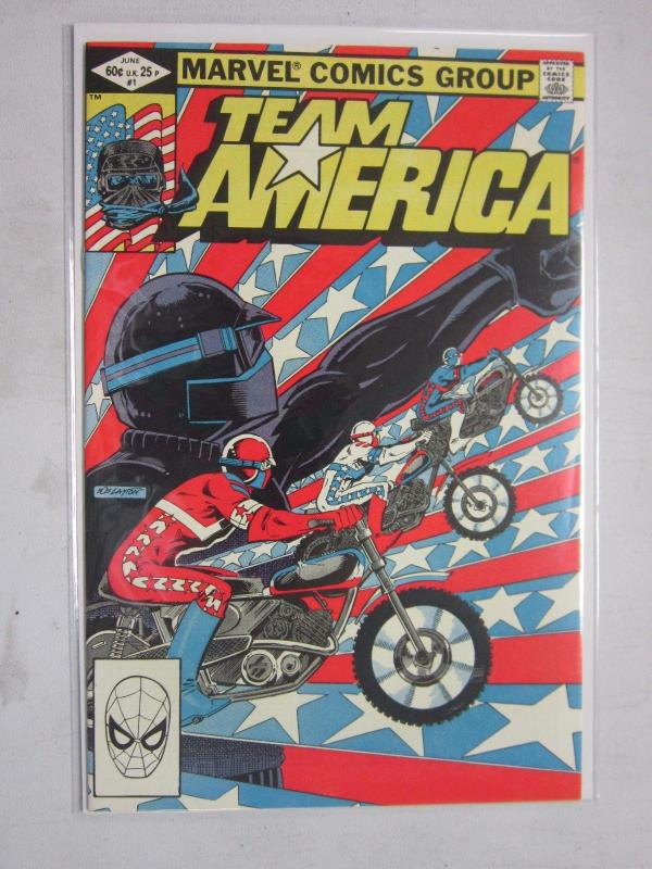 Team America #1 - Direct - 8.0 - 1982