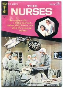 NURSES #2 1963-GOLD KEY-SHIRL CONWAY PHOTO COVER-CBS TV VG