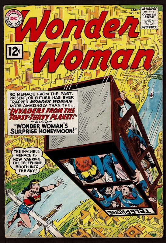 Wonder Woman #127 (Jan 1962, DC) Fine-