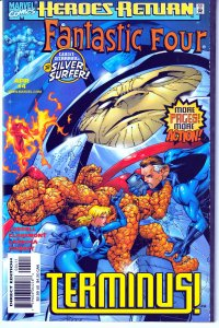 Fantastic Four(vol. 2)#2,3,4,5,6,8 Silver Surfer, Red Ghost,Super Apes,TechNet