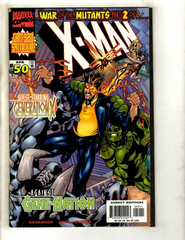 12 X-Man Marvel Comics # 37 38 39 40 41 42 43 44 45 48 49 50 Spider-Man EK10
