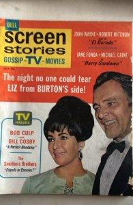 Screen Stories  July 1967-Liz&Dick Jane The Duke!C all my mags!