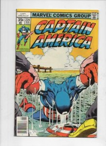 CAPTAIN AMERICA #224, FN/VF, Mike Zeck, 1968 1978, more CA in store