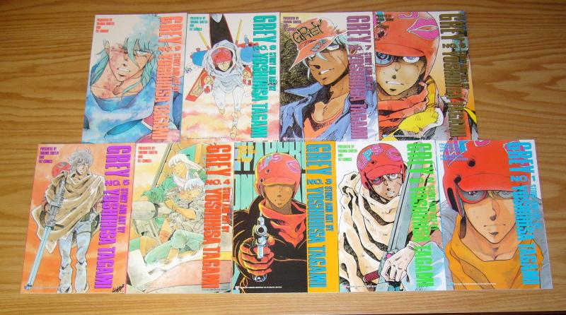 Grey #1-9 VF/NM complete series - viz select comics manga set lot 2 3 4 5 6 7 8