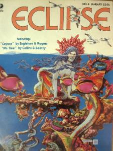 ECLIPSE Magazine #4 (January 1982) Autographed by Alex Simmons VG-F