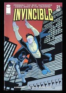 Invincible #21 NM+ 9.6