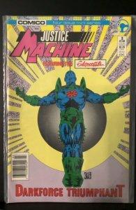 Justice Machine featuring The Elementals #3 (1986)