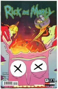 RICK and MORTY #12, 1st, VF/NM, Grandpa, Oni Press, from Cartoon 2015