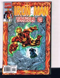 The Invincible Iron Man # 10 VF/NM Marvel Comic Books Avengers Thor Hawkeye SW14