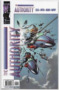 Authority   vol. 1   # 5 VF (Shiftships 1)