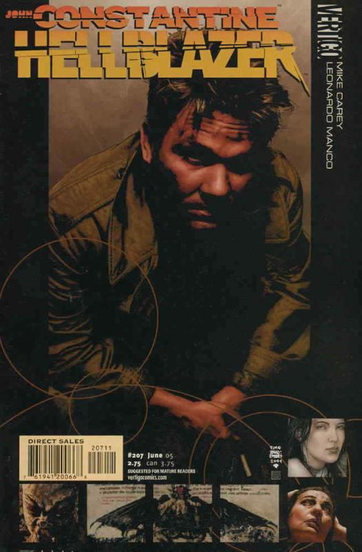 Hellblazer #207 FN; DC | save on shipping - details inside