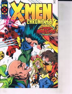 Lot Of 2 Marvel Comic Books X-Men Chronicles #1 and Astonishing #1 ON6