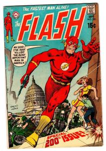 FLASH  #200 comic book 1970-DC-INFANTINO & ANDERSON-vg