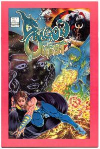 DRAGON QUEST #1, VF, Tim Vigil, Avatar, 1986, more TV in store