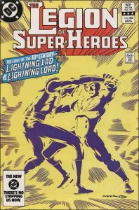 DC THE LEGION OF SUPER-HEROES (1980 Series) #302 VF