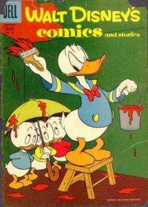 Walt Disney's Comics and Stories #196, Fair+ (Stock photo)