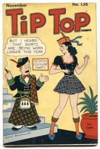 Tip Top Comics #136 1947- Li'l Abner- Fritzi Ritz G