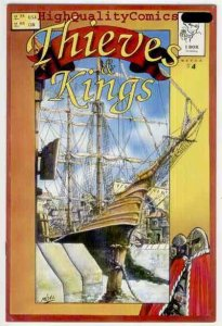 THIEVES & KINGS #4, NM, Mark Oakley, 1st, I Box, Independent, 1994