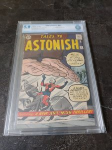 TALES TO ASTONISH #36 CBCS 5.0 3RD APPEARANCE OF ANT-MAN