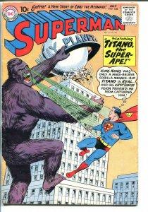 SUPERMAN #138 1960-DC-TITANO THE SUPER APE-vg/fn
