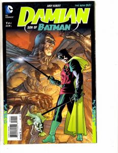4 DC Comics # 1 Damian Nightwing Annual Thunder Manhunter Batman Superman J209
