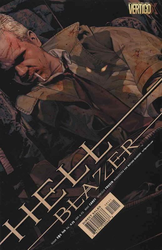 Hellblazer #191 VF/NM; DC | save on shipping - details inside