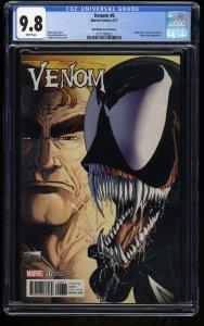 Venom (2017) #6 CGC NM/M 9.8 1:1000 McFarlane Color Variant!