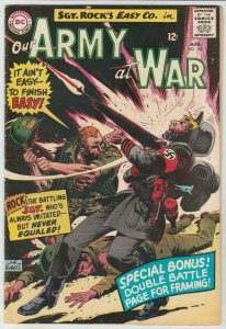 Our Army at War # 157 strict NM- High-Grade Cover Sgt.Rock, Nazis