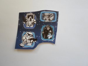 STARS WARS STICKERS.