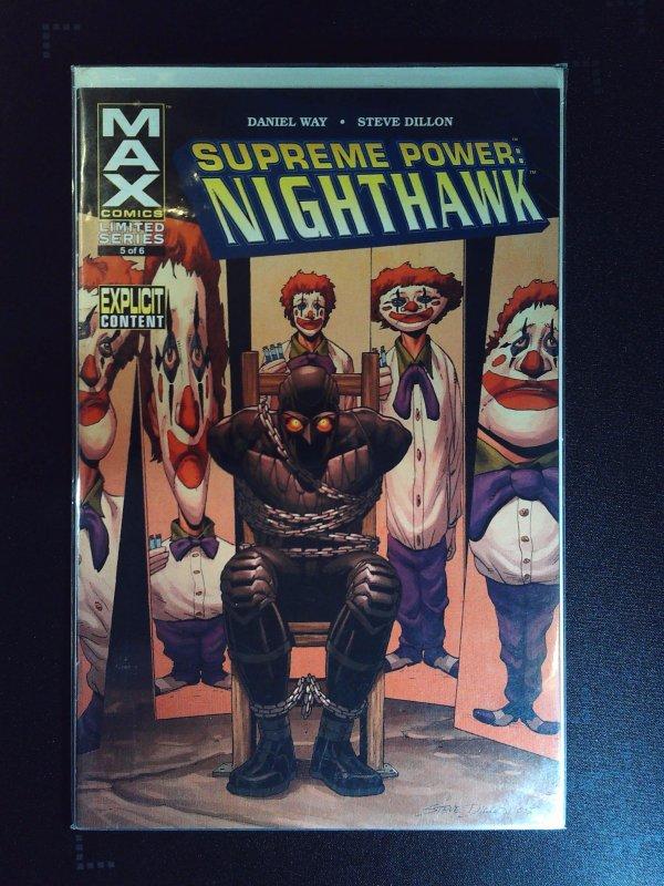 Supreme Power: Nighthawk #5 (2006)