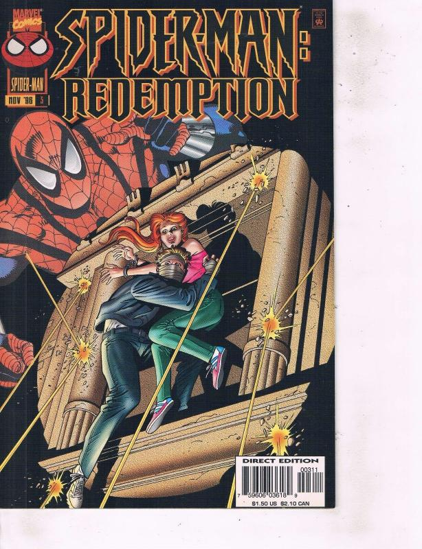 Lot Of 2 Spider-Man Redemption, Spider-Girl  Marvel Comic Book #3 10 Thor ON14