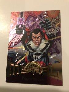 PUNISHER 2099 #50 card : Marvel Metal 1995 Fleer Chromium; NM/M Avengers, base