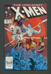 Uncanny X-Men #229  / 7.5 VFN-  /  May 1988