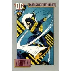 1991 DC Cosmic Cards - NIGHTWING #65
