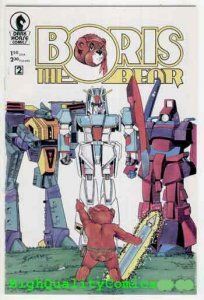 BORIS the BEAR #2, NM, Transformers, 1986, Parody, Robots, more indies in store