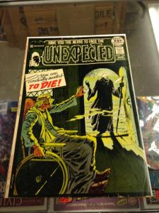 The Unexpected 126 VG/VG+ Nick Cardy Death cover (DC Aug, 1971)