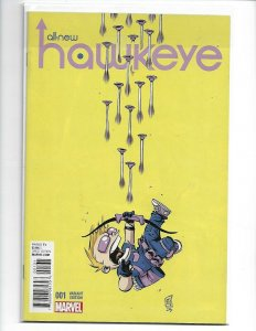 ALL NEW HAWKEYE #1 Skottie Young Variant Comic Book Marvel NM First Print (v18)