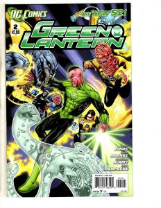Lot Of 9 Green Lantern New 52 DC Comic Books # 2 3 4 5 6 7 9 10 11 Batman MK7
