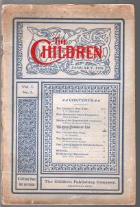 The Children #1 1/1901-1st issue-Bugville Circus-Chinese New Year-VG