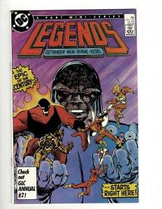 Legends Complete DC Comics LTD Series # 1 2 3 4 5 6 Suicide Squad Amanda Wal OF2