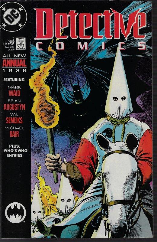 Detective Comics #2 Annual (DC, 1988) NM