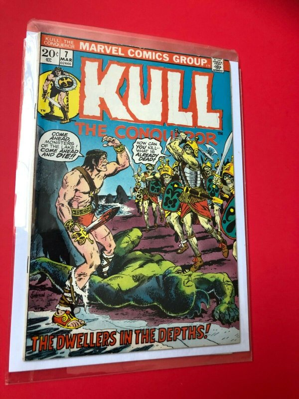 KULL THE CONQUEROR #7 1972 MARVEL / MID QUALITY