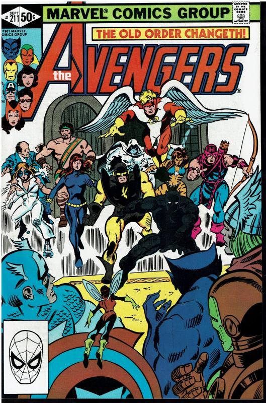 Avengers #211, 9.0 or Better