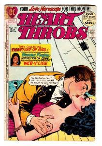 Heart Throbs #141 DC comic book 1972-African-American-Spicy cvr