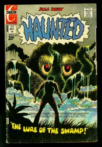 Haunted #8 1972- Charlton Horror Comics- VG