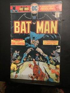 Batman #272 (1976) Underworld Olympics wow! mid-grade key! FN wow!