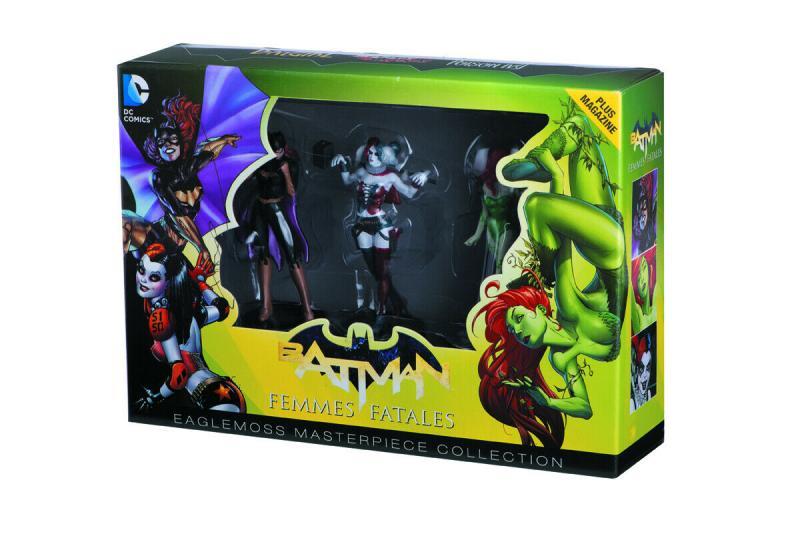 DC Masterpiece Collection 2 Femme Fatales Harley Ivy Batgirl Ltd Ed #3606/6000