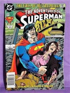 Karl Kesel ADVENTURES of SUPERMAN #514 Peter Krause (DC, 1994)!