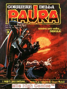 PAURA MAGAZINE ITALIAN (1974 Series) #9 Very Fine